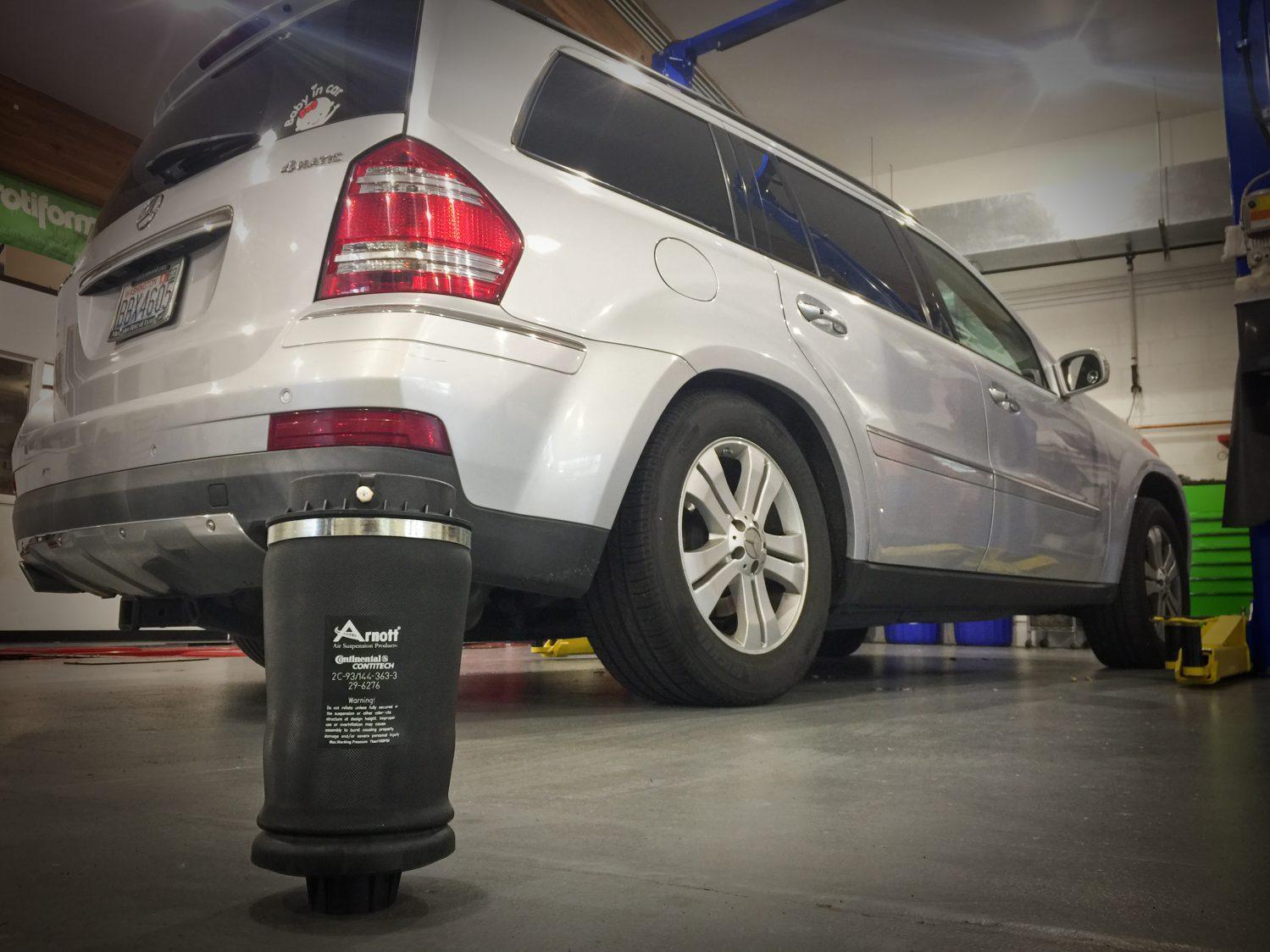 Mercedes Factory Air Bag Suspension